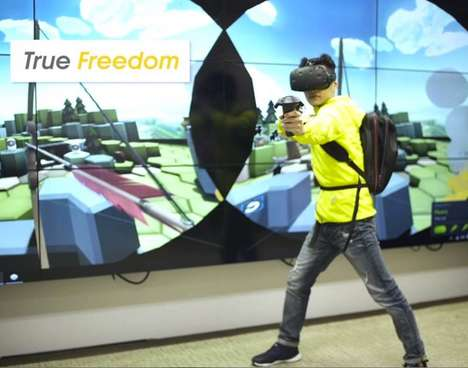 Untethered VR Gaming Backpacks