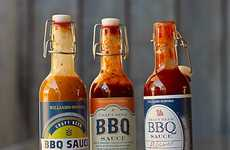 Craft Beer BBQ Sauces - Williams-Sonoma's Signature Sauces are Co-Branded with Local Breweries