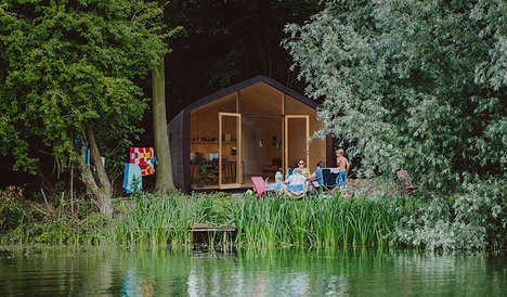 Liveable Cardboard Abodes - The Wikkelhouse is a Sustainable House Made From Recycled Paper