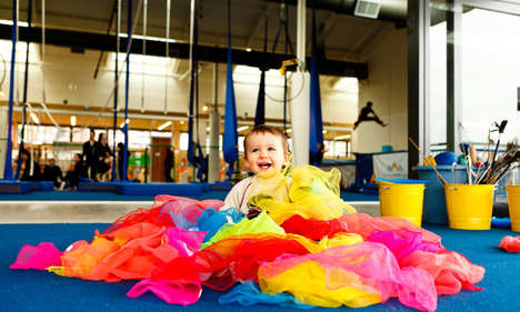 Toddler-Targeted Circus Classes - This Event Makes the Circus Accessible to Parents and Toddlers