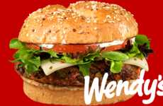 Vegan Fast Food Burgers - Wendy's is Offering a Vegan-Friendly Sandwich With a Black Bean Patty