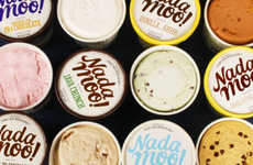 Nostalgic Vegan Ice Creams - NadaMoo! Creamery Recreates Cult Flavors With Dairy-Free Ingredients