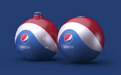 Beach Ball Soda Bottles