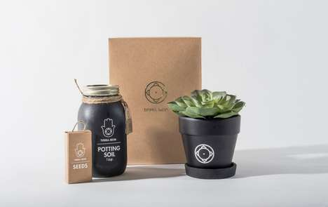 Portable Planting Kits - The Tierra Selva Kit Lets Users Create a DIY Herb Garden