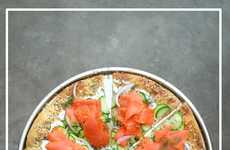 Lox-Topped Pizzas - This Lox Bagel Pizza Recipe is a Dream Come True for New Yorkers and Salmon Fans