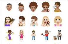 Socially Aware Emoji Apps - The MuvaMoji App From Amber Rose Adds Activism to Personal Branding