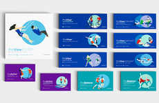 Lifestyle-Depicting Prescription Packaging - The ProVision Contact Lenses Boxes Correlate to Use