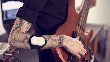 Bio-Acoustic Music Wearables - This Wearable Device Translates Bodily Sounds Into Musical Data