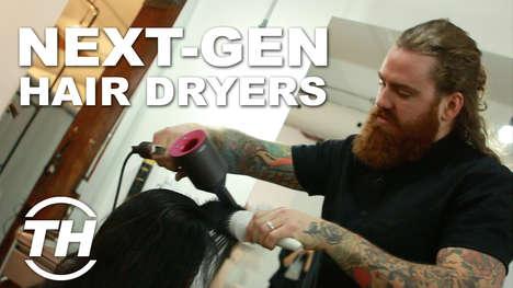 Next-Gen Hair Dryers - Hair Stylist Matthew Collins Trials the Dyson Supersonic Hair Dryer