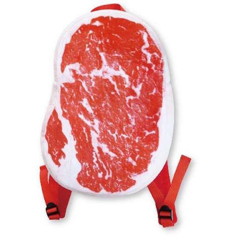 Meaty Steak Backpacks