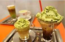 Creamy Matcha Coffees - These Illy Coffee Creations Blend Green Tea and Espresso Ingredients