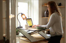 Compact Height-Adjustable Desks - Opløft Makes a Workspace Work for You, Even in Small Spaces