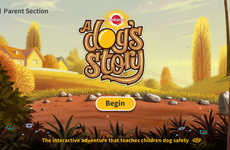 Interactive Canine Safety Apps - The Dog's Story App Helps Children Learn About Dog Safety