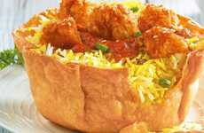 Eco-Friendly Tortilla Bowls - KFC India is Testing an Edible Bowl for Environmental Purposes