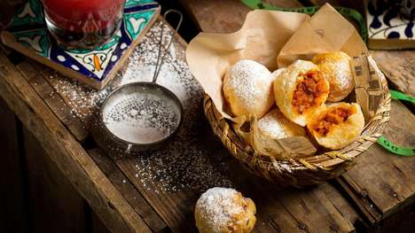 Spicy Cheese Donuts - Cabana Brazilian Barbecue Restaurants Serve a Spicy Malagueta Chicken Donut