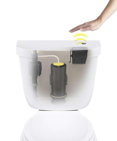 Touchless Toilet Flush Kits