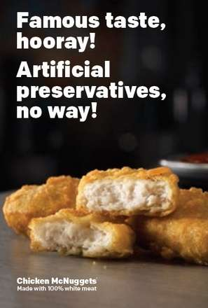 Preservative-Free Chicken - McDonald's is Now Testing Preservative-Free Chicken McNuggets