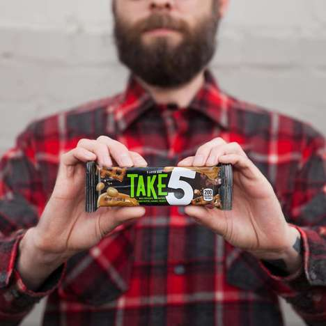 Revamped Candy Bars - The Take 5 Bar Has Been Rebranded to Appeal to Millennials