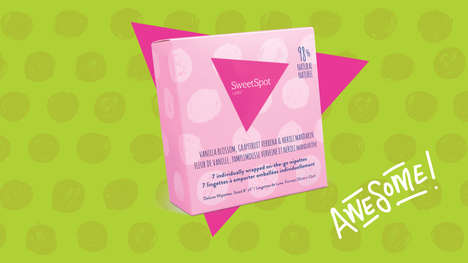 Feminine Personal Wipes - SweetSpot Labs Makes 'On-The-Go Wipettes' for Women