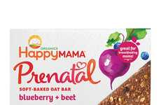 Prenatal Oat Bars - Happy Mama's Prenatal Nutrition Bars Support Pregnant and Breastfeeding Women