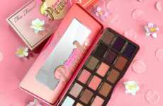 Scented Eyeshadow Palettes - The Too Faced Sweet Peach Palette is a Limited Edition Product