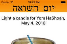 Holocaust Remembrance Apps - The Yom HaShoah Smartphone App Aids Remembrance Of Holocaust Victims