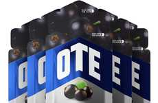 Caffeinated Energy Gels - OTE Sports' Workout-Boosting Gel Provides Easy-to-Consume Energy