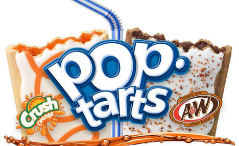 Soda-Flavored Breakfast Treats - These Soda Pop Tarts are Flavored After Favorite Pop Varieties