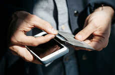 Wallet Smartphone Stands - The Bellroy Phone Wallet Acts as a Wallet, Protector and Device Stand