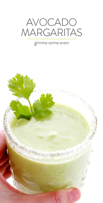 Avocado Margarita Recipes - This Homemade Creamy Cocktail is a New Take on a Cinco de Mayo Drink