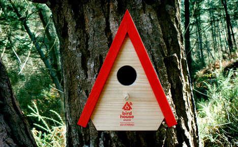 Fire-Alerting Birdhouses