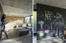 Chalkboard Wall Homes