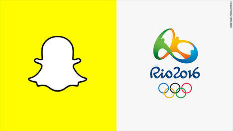 Social Olympic Snapshots - In Partnership with NBC, Snapchat Will Be Showing Rio Olympic Highlights
