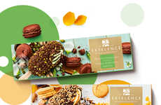 Macaron Dessert Popsicles - Ekselence Macarons Introduces a Hybrid of Ice Cream and Macarons