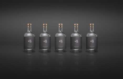 Double-Sided Vodka Bottles