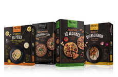 Artisanal Frozen Food Packaging - The Merci Chef Frozen Food Products Convey a Handmade Notion