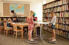 Classroom-Friendly Standing Desks