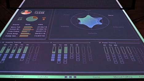 Tech-Enhanced Tennis Tables