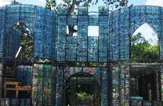 Plastic Bottle Villages