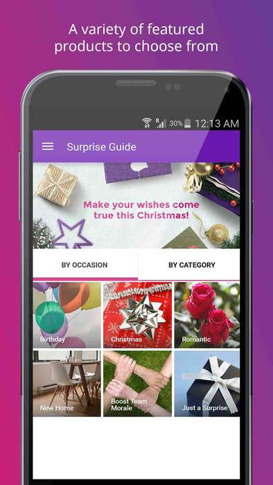 Data-Driven Gift Apps