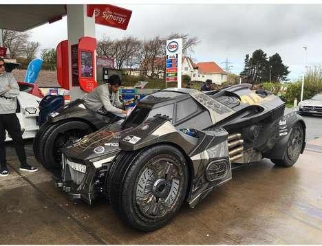Carbon Superhero Vehicles