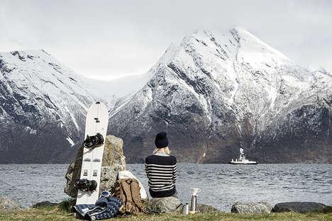Simplistic Scandinavian Snowboards
