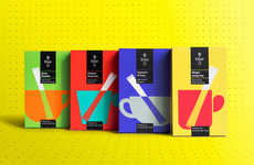 Technicolored Tea Branding - These Tea Boxes are Marketed with Vibrant Packaging