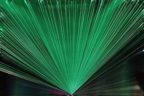 Printable Single-Use Lasers