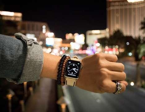 Custom Leather Smartwatch Straps