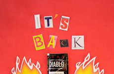 Festive Taco Promotions - Diablo Sauce is Returning to Taco Bell Just in Time for Cinco de Mayo