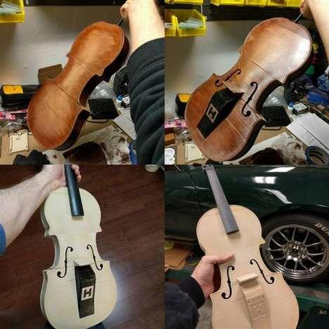 Custom 3D-Printed Violins