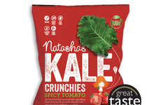Tomato-Flavored Kale Chips - Natasha's Seasoned Chips Taste Like Another Vegetable