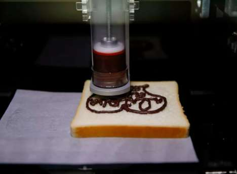 3D-Printed Snack Machines