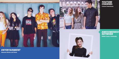 Tween Influencer Communities - The AwesomenessTV Network Supports Young Content Creators
